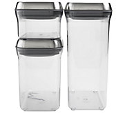 OXO Steel 3-Piece POP Container Set - K305013