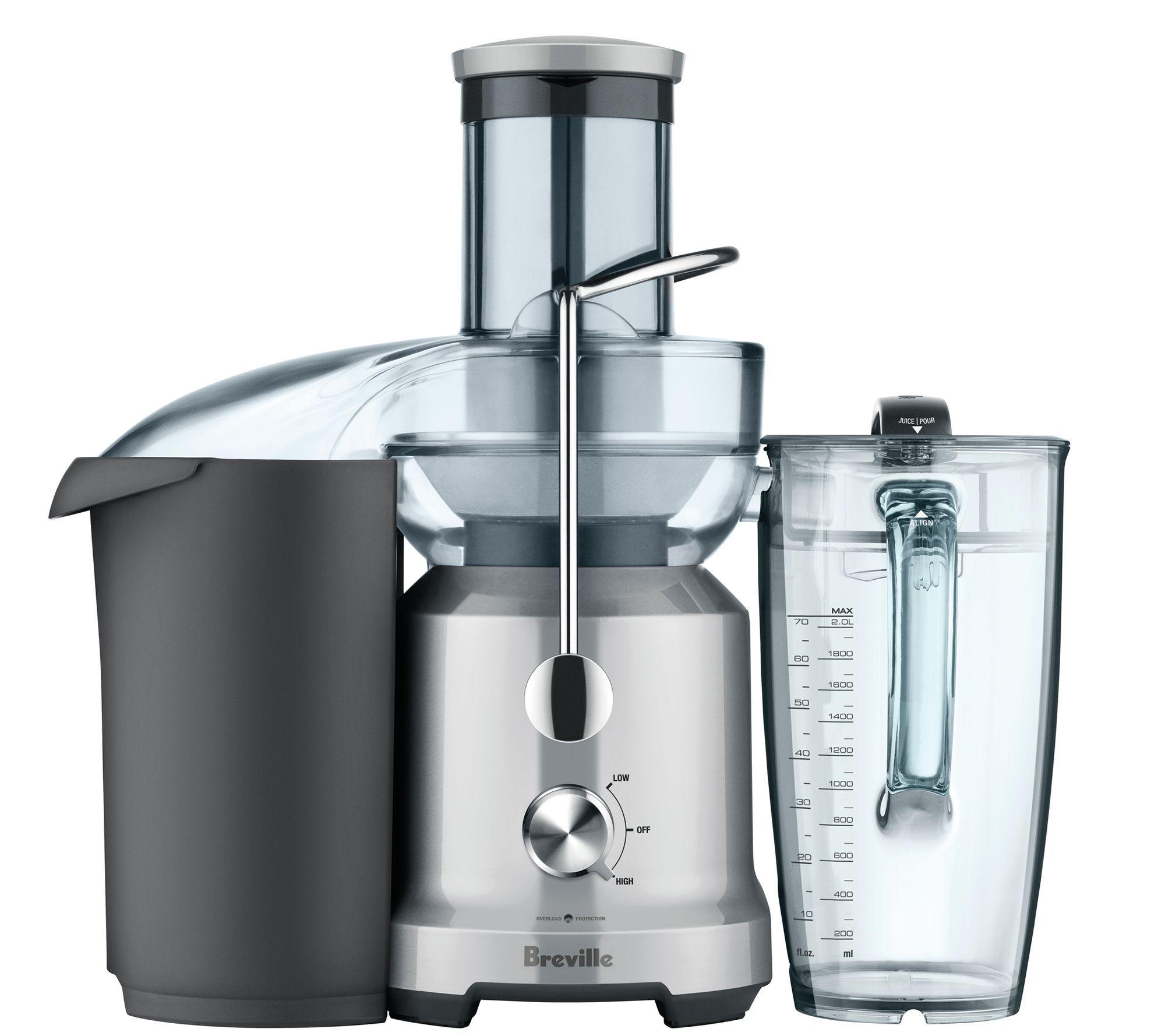 Breville Juice Fountain Cold - Page 1 — QVC.com