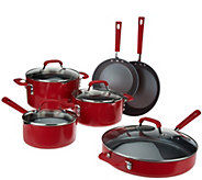 Emeril 10-pc Aluminum Quantanium Nonstick Cookware Set - K43613