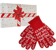 Temp-tations S/2 Holiday Oven Mitts w/ Gift Box
