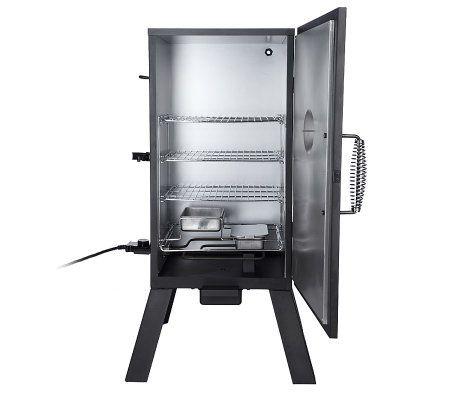 masterbuilt smokehouse 3rack electric smoker w thermostat page 1 u2014 qvccom