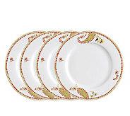 Rachael Ray Paisley Dinner Plates - 4-Pack - K297314