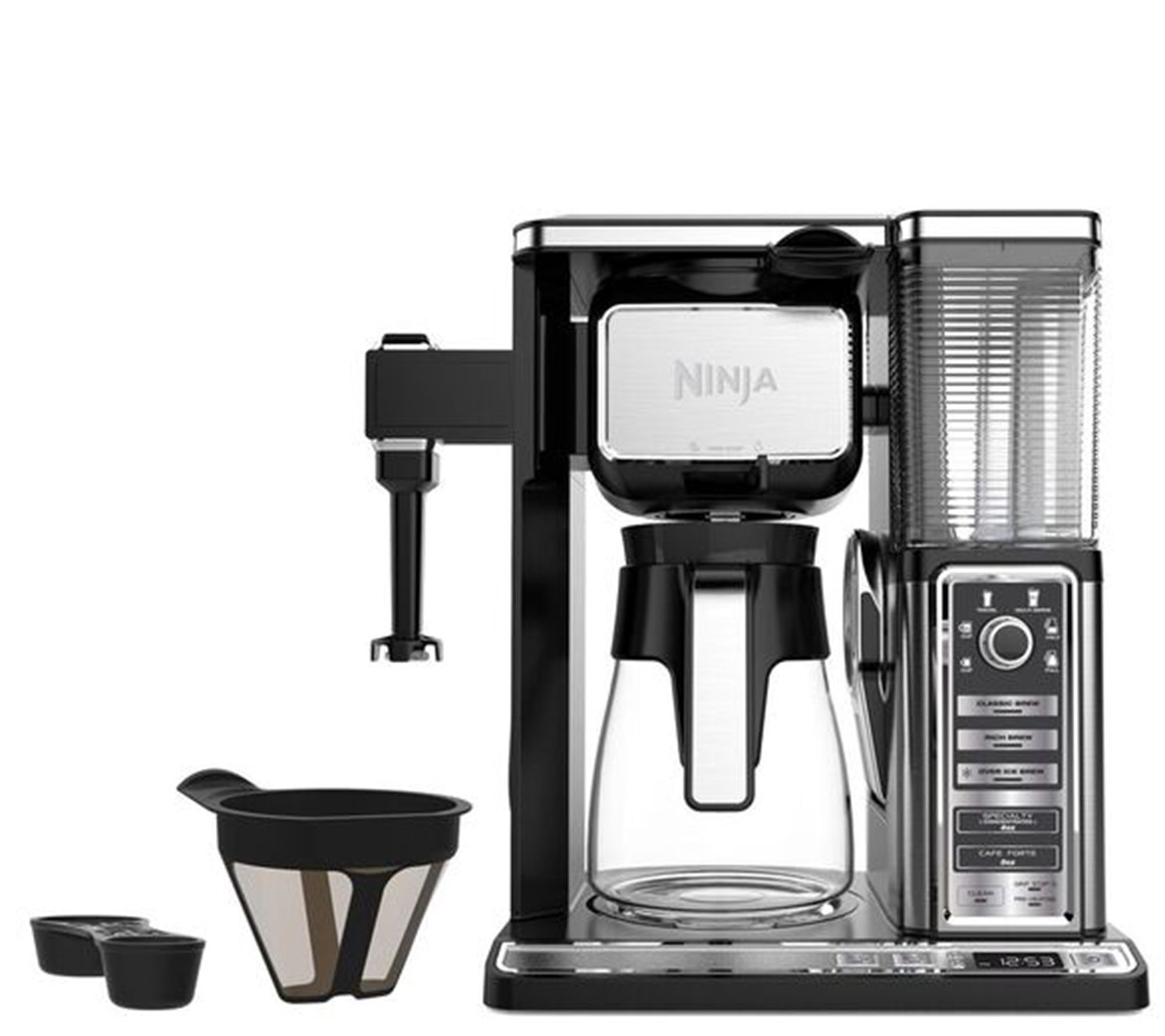Uncategorized Qvc Kitchen Appliances kitchen appliances qvc com ninja coffee bar with glass carafe and built infrother k305814