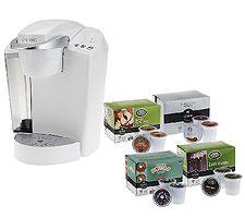Keurig K45 Coffee Maker with 48 K-Cup Packs & Water Filter Kit