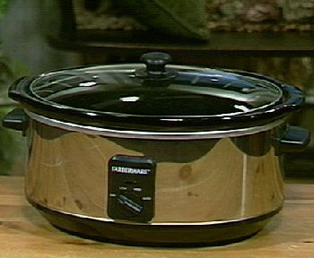 Farberware 6 Quart Oval Slow Cooker w/Removable Pan — QVC.com