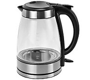 Kalorik Stainless Steel Glass Water Kettle - K302515