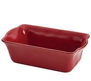 Rachael Ray Cucina Stoneware 9 x 5 Loaf Pan - K303215