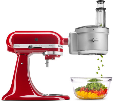 qvc kitchen aid with Kitchenaid Premium Food Processor Stand Mixer Attachment Product K41515 on Mood Atelier Abito In Pizzo Con Manica Al Gomito likewise Skechers GO Walk Joy Slip On Shoes Radiant product A302183 as well Outstanding Qvc Kitchen Appliances also 859720301230 as well Random.