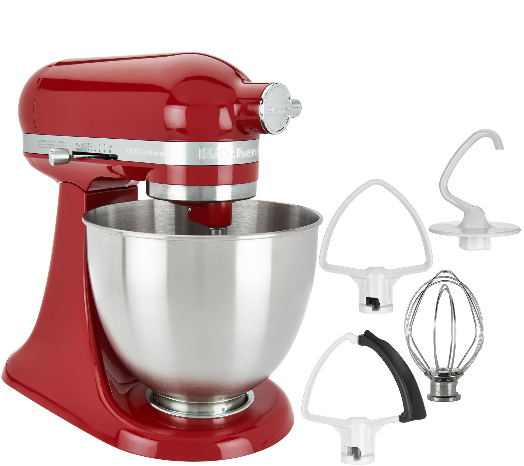 Uncategorized Qvc Kitchen Appliances kitchenaid small appliances kitchen food qvc com 3 5qt mini artisan stand mixer with flex edge beater k45915