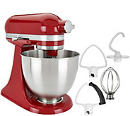 KitchenAid 3.5qt. Mini Artisan Stand Mixer with Flex Edge Beater - K45915