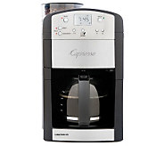Capresso Coffee TEAM GS 10- cup Brewer and Grinder - K132216