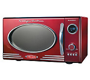 Nostalgia Electrics Retro Series 0.9 Cu Ft RedMicrowave Oven - K299516