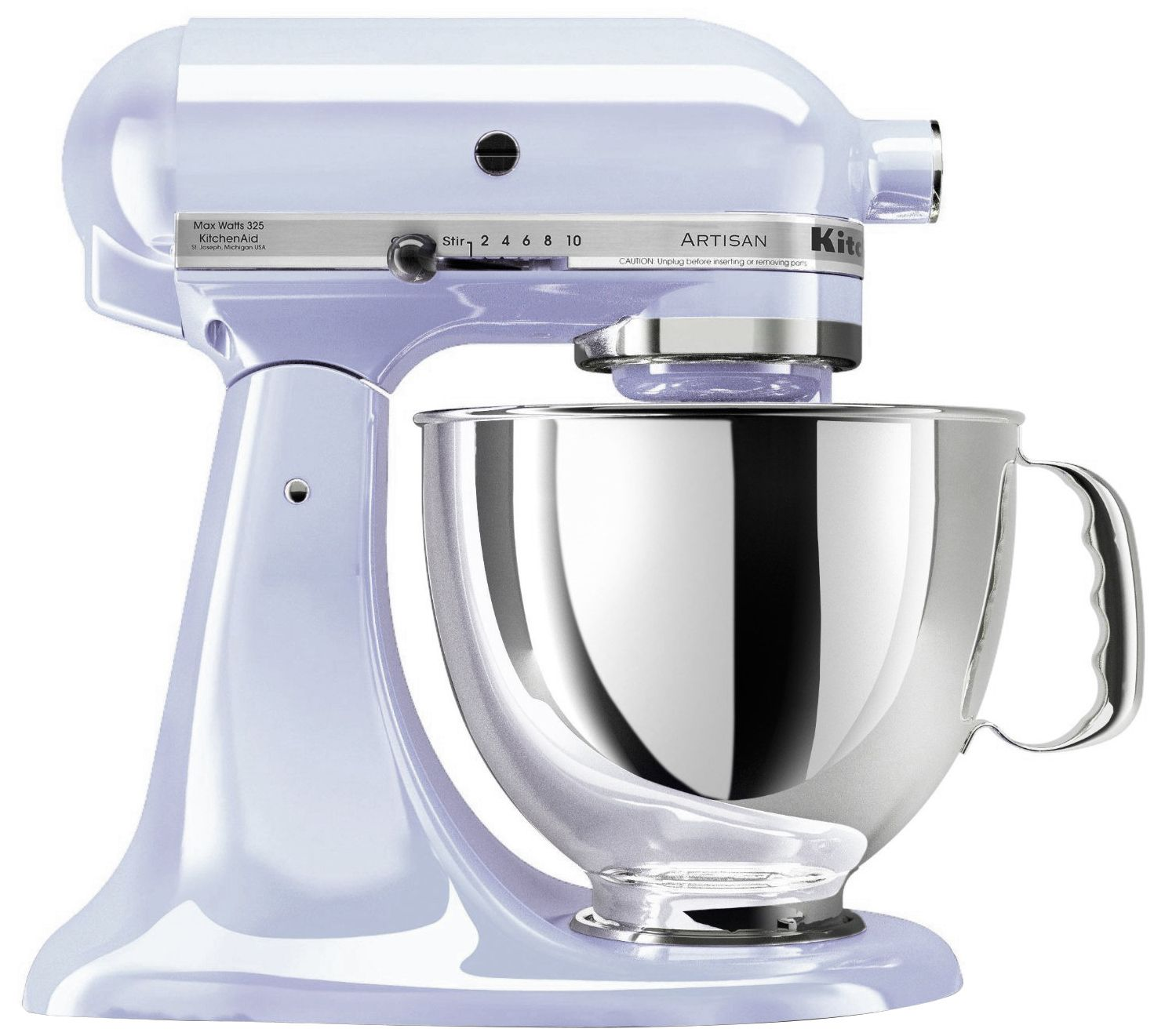 Kitchen Aid kitchenaid artisan 5-qt tilt-head mixer - page 1 — qvc