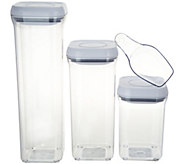 OXO Good Grips Set of 3 Pop Storage Containers with Scoop - K45316