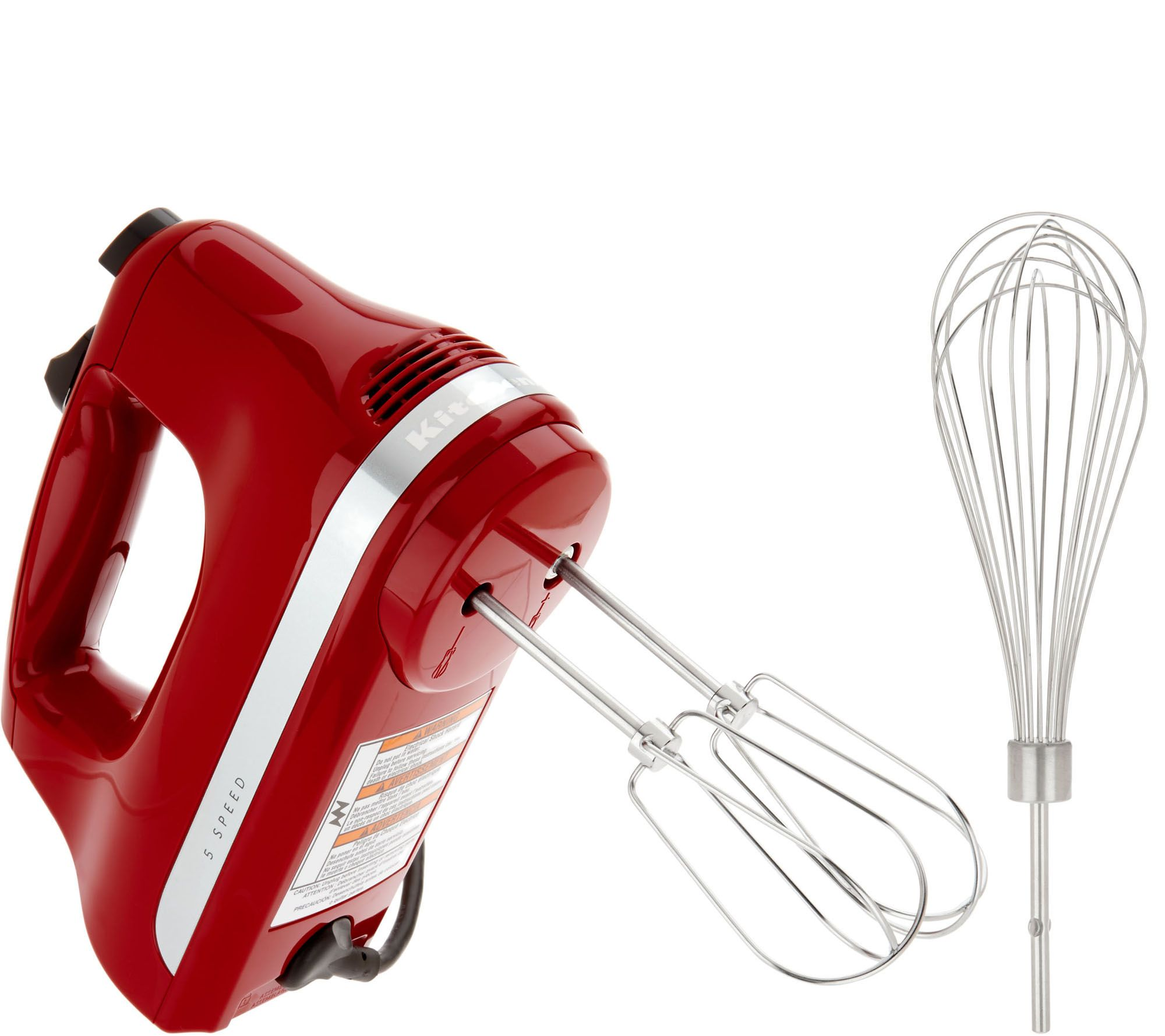 KitchenAid 5 Speed Ultra Power Hand Mixer w Wire Pro Whisk Page