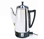 Presto 12-cup Stainless Steel Perk Coffee Maker - K129217