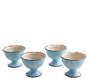Temp-tations Set of 4 Floral Lace Parfait Cups - K304017