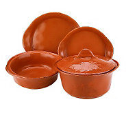 Rachael Ray Cucina 5-Piece Stoneware Baker Set - K39017