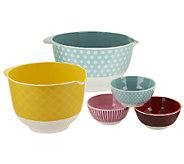 Cake Boss 5-Piece Melamine Bowl Set - K39917