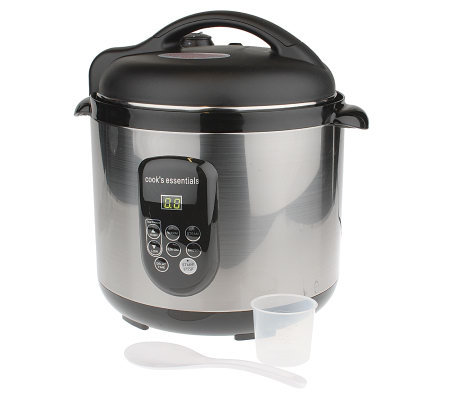 CooksEssentials 8 qt. Digital Pressure Cooker w/Accessories