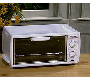 Betty Crocker Toaster Oven & Broiler with Auto Shutoff ? QVC.com