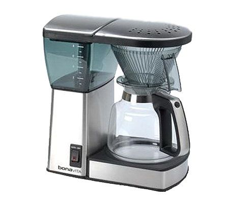 Bonavita Coffee Maker Replacement Glass Carafe : Bonavita Brew BV1800 8-Cup Coffee Maker with Glass Carafe QVC.com