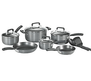T Fal D913sc64 Signature Hard Anodized 12 Piececookware Set