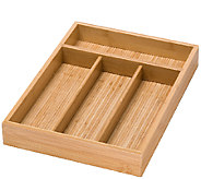 Honey-Can-Do Bamboo Cutlery Tray - K304218