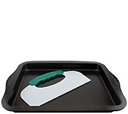 BergHOFF Perfect Slice Cookie Sheet with Cutting Tool - K304318