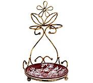 Temp-tations Floral Lace Spoon Rest Antique Gold - K43618