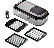 KitchenAid Gourmet Black 3 In 1 Chopper And Slicer - K374919