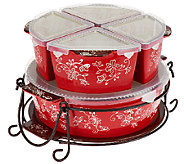 Temp-tations 7-pc. Winter Garden or Floral Lace Baker Set - K40919