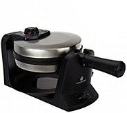 CooksEssentials Nonstick Flip Waffle Maker - K44619