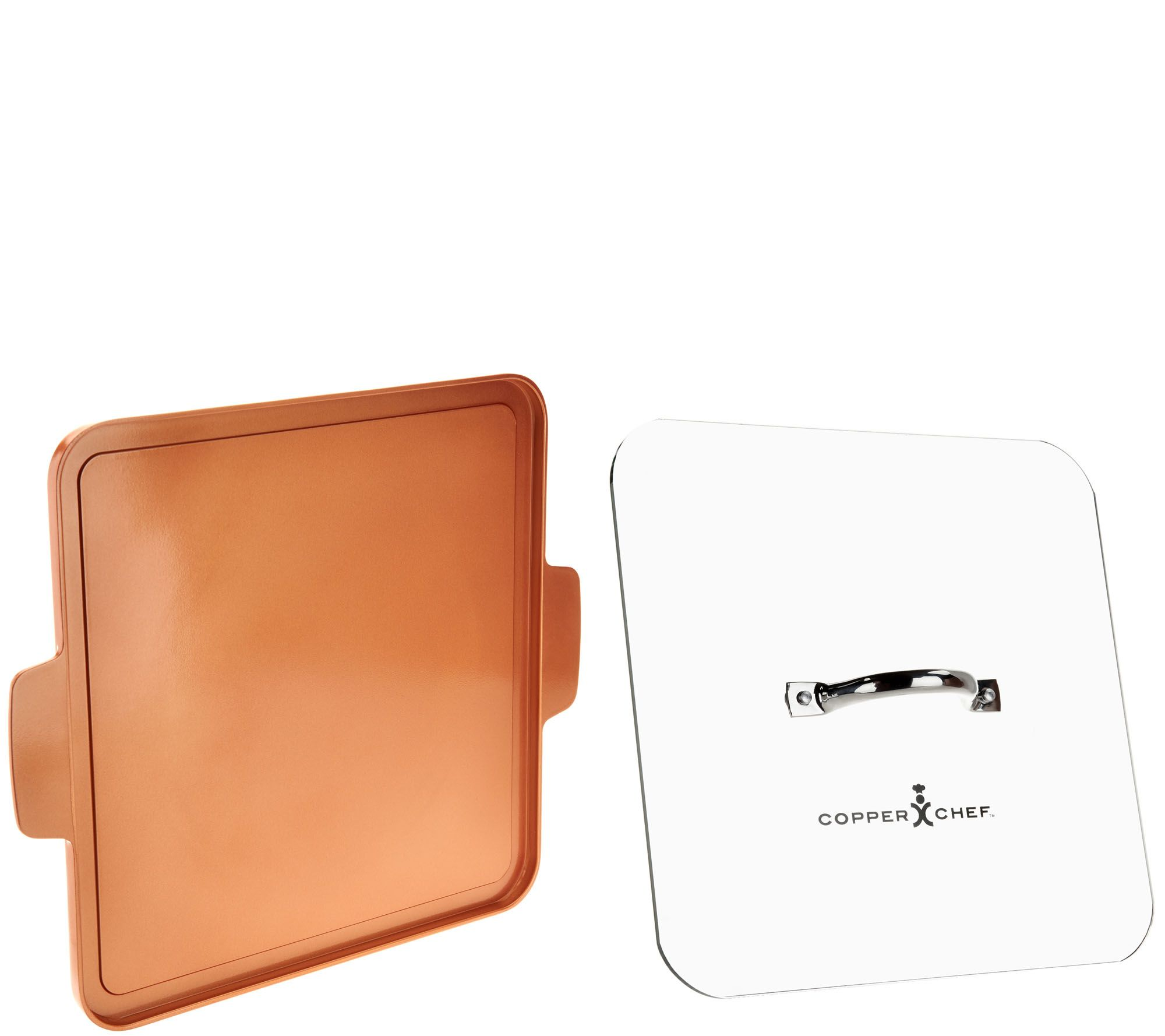 New customer qvc promo code - Copper Chef Indoor Outdoor 12 X12 Griddle With Glass Press K45819