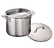 Tramontina 3-Piece 6-qt Multi-Cooker with Tempered Glass Lid - K121320