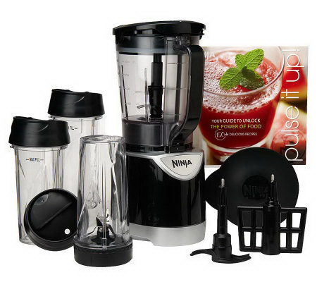 Ninja Kitchen System 40 oz. Pulse Blender & (3) 16 oz. Cups