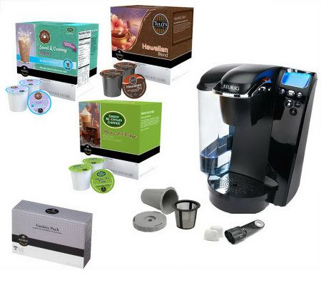 Keurig B79 Platinum Plus Coffee Maker w/ 58 K-Cups & My K-Cup - Page 1 QVC.com