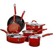 Rachael Ray 11-pc Gradient Porcelain Enamel Cookware Set - K46620