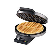 Cuisinart Round Classic Waffle Maker -Chrome/Black - K123621