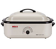 Nesco 18-qt Ivory Nonstick Roaster - K132821