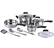 SPT 11-Piece Stainless Steel Cookware Set - K301421