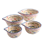 Temp-tations Old World Sentiment Measuring Cups - K303821