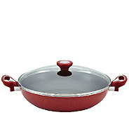 Farberware New Traditions Speckled 12-1/2 Covered Skillet - K303921