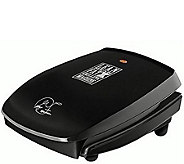 George Foreman 4-Serving Basic Plate Grill - Black - K306621