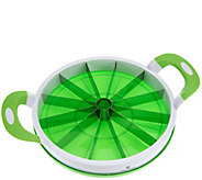 As Is Cooks Essentials Melon Slicer w/ Stainless Steel Serrated Blade - K307421
