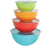 Nordic Ware 8-Piece Covered Bowl Set - K375021