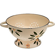 Temp-tations Old World 5-quart Enamel Colander - K43221