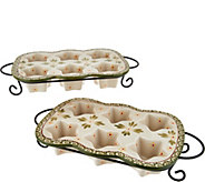 Temp-tations Old World Set of 2 Muffin Pans - K44021