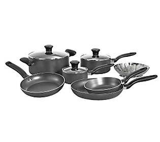 T Fal A821sa94 Initiatives 10 Piece Cookware Set Gray