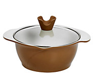 Anna Boiardi 2.37-qt Covered Casserole with 2 Spouts - K303322